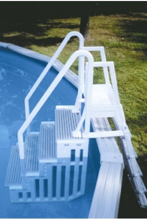 Exceptionnel Above Ground Pool Steps