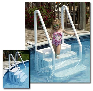 Above Ground Pool Steps For Disabled - Round Decorating Ideas