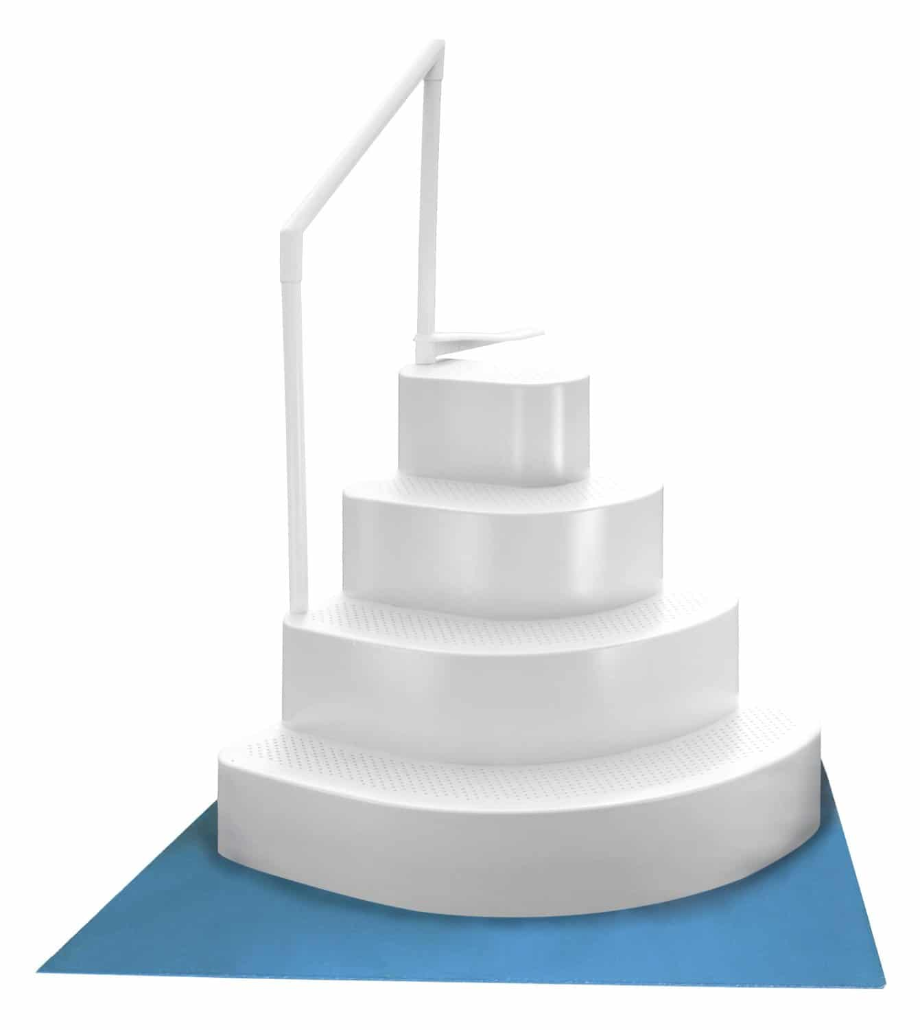 BlueWave Wedding Cake Steps