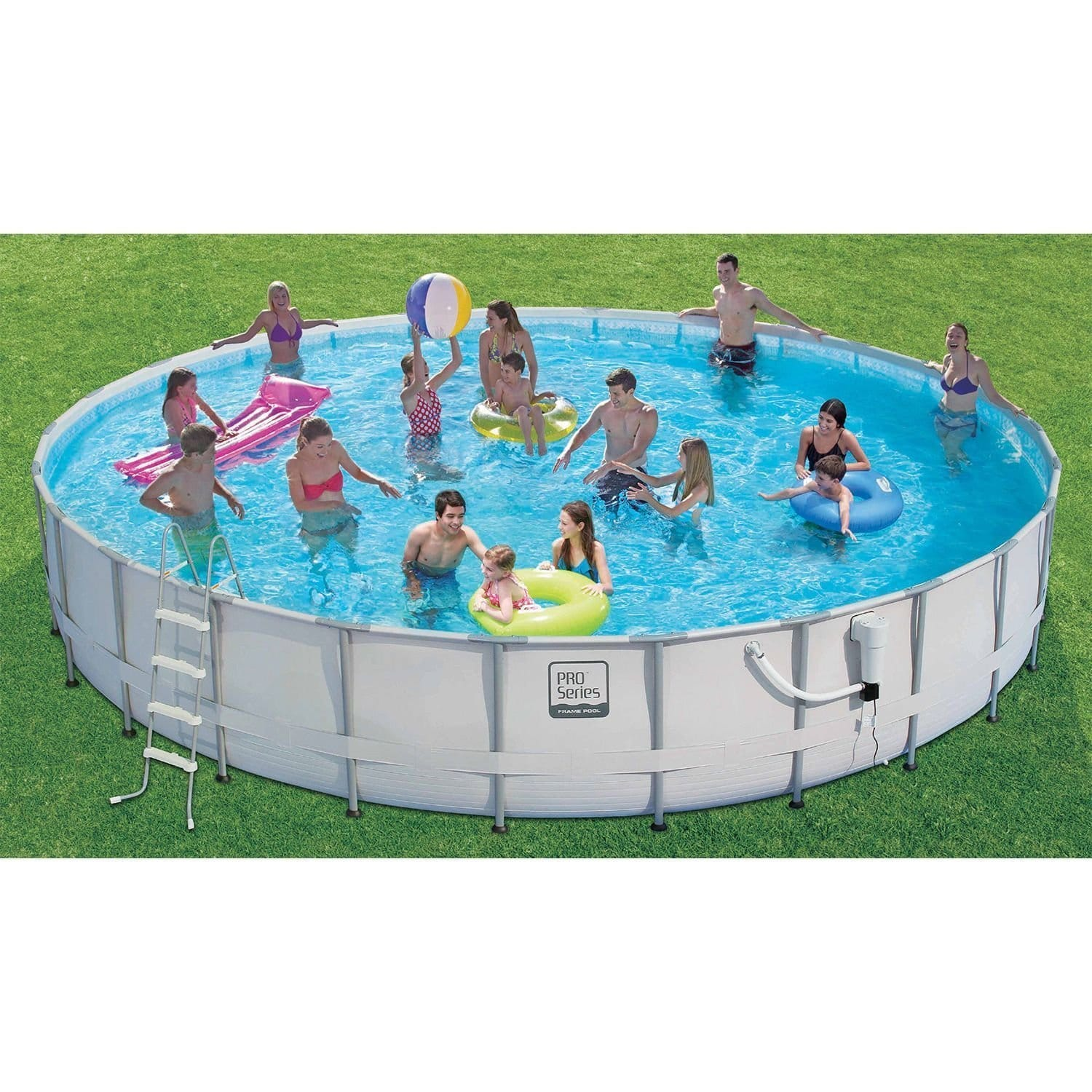 Proseries Frame Pool Set with Mosaic Print