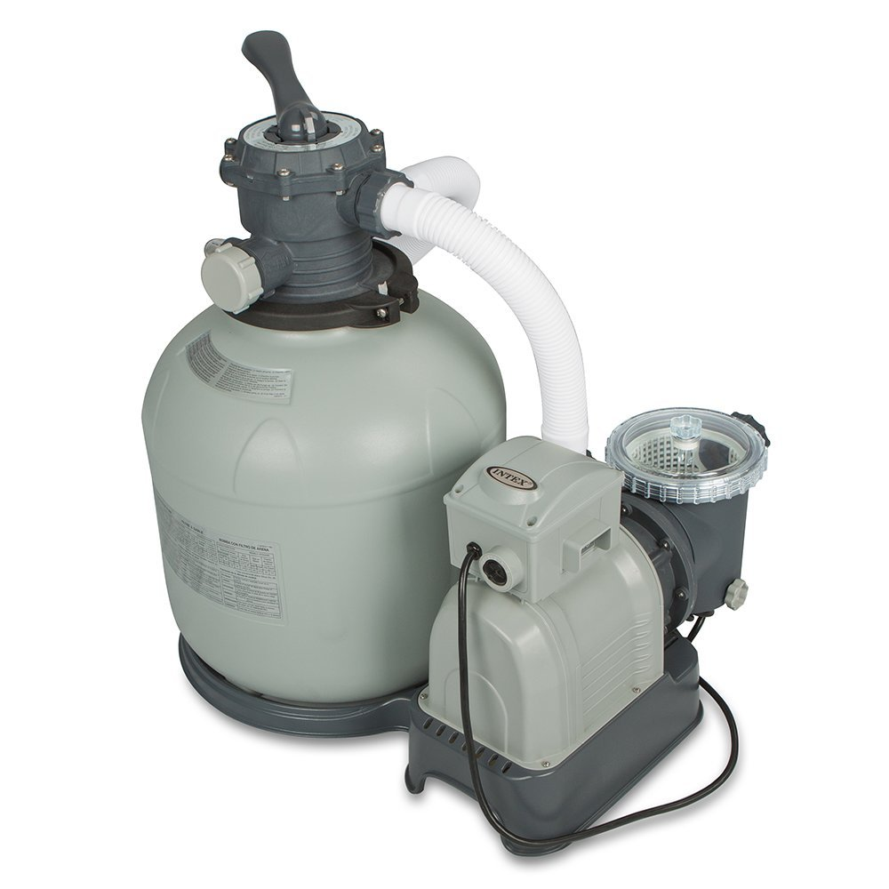 intex sand filter pool pump